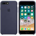 Чехол iPhone 8 Plus/7 Plus - Silicone Case - Midnight Blue (MQGY2)
