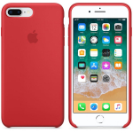 Чехол  iPhone 8 Plus/7 Plus - Silicone Case - PRODUCT RED (MQH12)