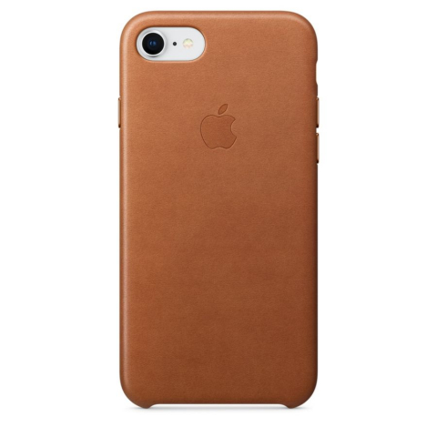 Чехол iPhone 8/7 - Leather Case - Saddle Brown (MQH72)