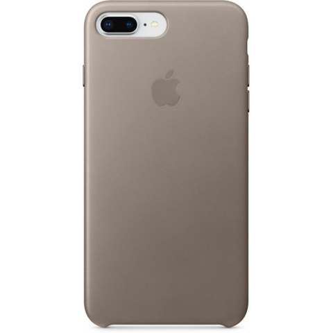 Чехол iPhone 8 Plus/7 Plus - Leather Case - Taupe (MQHJ2)