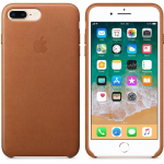 Чехол iPhone 8 Plus/7 Plus - Leather Case - Saddle Brown (MQHK2)