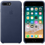 Чехол iPhone  8 Plus/7 Plus - Leather Case - Midnight Blue (MQHL2)