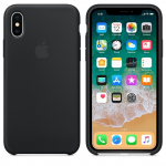 Чехол iPhone X/Xs - Silicone Case - Black (MQT12)