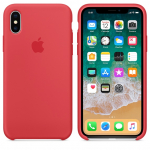 Чехол iPhone X/Xs - Silicone Case - Red Raspberry (MRG12)