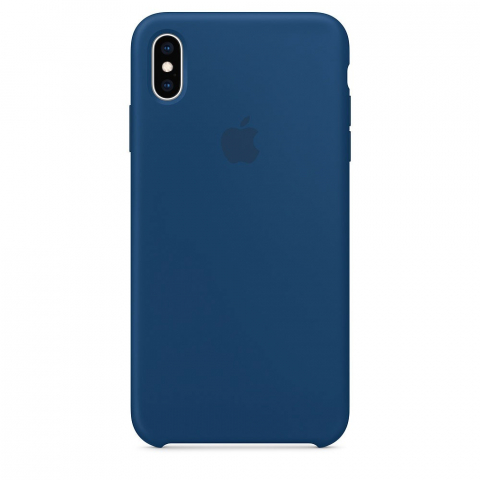 Чехол iPhone Xs Max - Silicone Case - Blue Horizon (MTFE2)