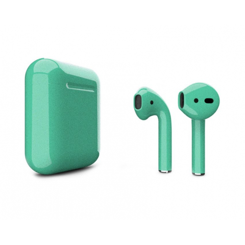 Наушники Apple AirPods 2 with Fairy Wing (612a5) Gloss Wireless Charging Case (MRXJ2) 2019