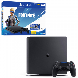 PlayStation 4 Slim 500GB + Fortnite DLC