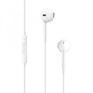 Наушники Apple EarPods with Remote and Mic белые