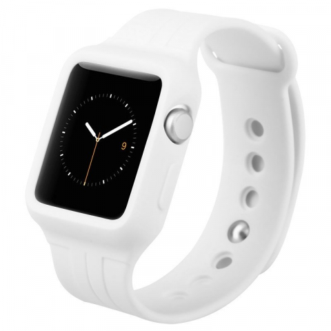Ремешок Baseus Fresh Color Plus белый для Apple Watch 42 мм