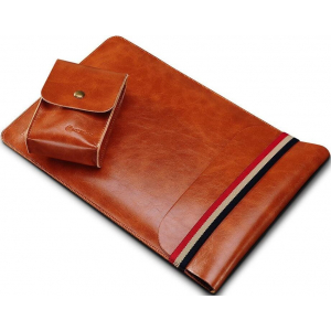 Чехол (карман) Coteetci Leather Bag коричневый для MacBook Air 11""