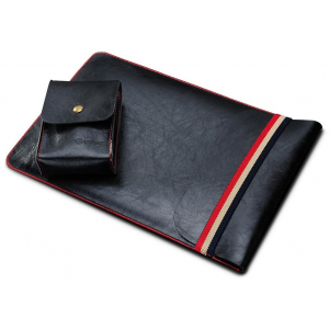 Чехол (карман) Coteetci Leather Bag черный для MacBook Air 13""