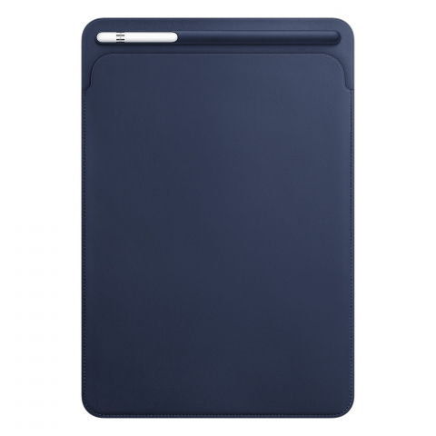 Чехол Apple Leather Sleeve синий (MPU22) для iPad Pro 10.5""