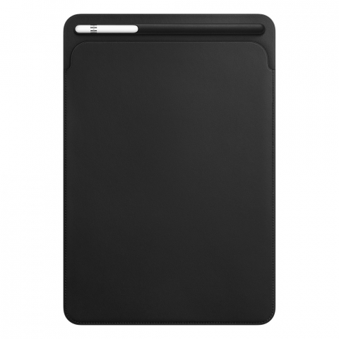Чехол Apple Leather Sleeve черный (MPU62) для iPad Pro 10.5""