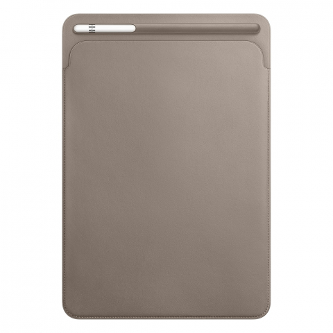 Чехол Apple Leather Sleeve серый (MPU02) для iPad Pro 10.5""