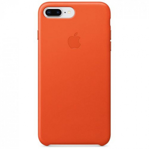 Чехол iPhone 8 Plus/7 Plus - Leather Case - Bright Orange (MRGD2)