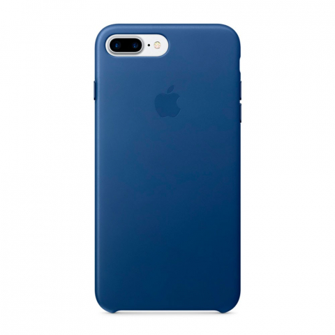 Чехол iPhone 8 Plus/7 Plus - Leather Case - Sapphire (MPTF2)