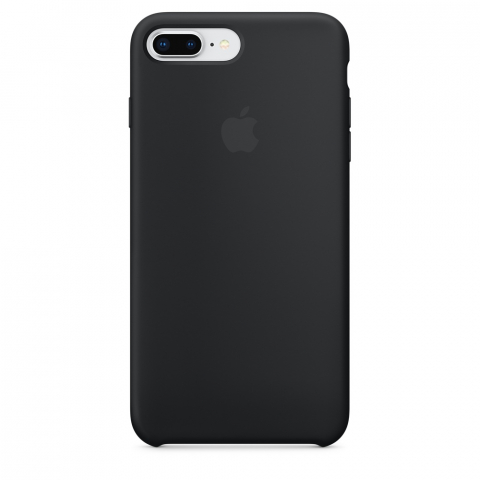Чехол Apple Silicone Case iPhone 8 Plus/7 Plus Black copi(A)