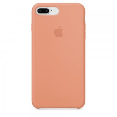 Чехол Apple Silicone Case iPhone 8 Plus/7 Plus Peach copi(A)