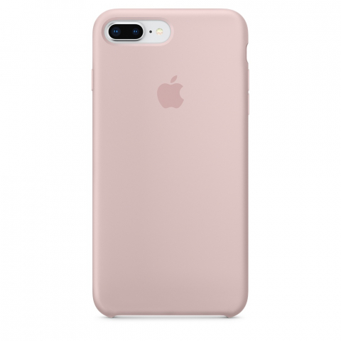 Чехол Apple Silicone Case iPhone 8 Plus/7 Plus Pink Sand copi(A)