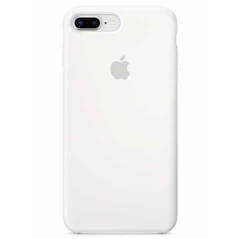 Чехол Apple Silicone Case iPhone 8 Plus/7 Plus White copi(A)