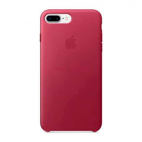 Чехол Apple Silicone Case iPhone 8 Plus/7 Plus Red Raspberry copi(A)