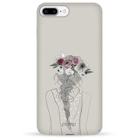 Чехол Pump Tender Touch Case for iPhone 8 Plus/7 Plus Flowers in Hair