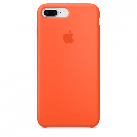 Чехол Apple Silicone Case iPhone 8 Plus/7 Plus Spicy Orange copi(A)