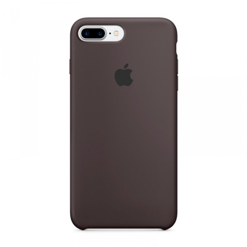Чехол Apple Silicone Case iPhone 8 Plus/7 Plus Cocoa copi(A)
