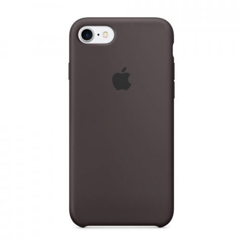 Чехол Apple Silicone Case iPhone 8/7 Cocoa copi(A)