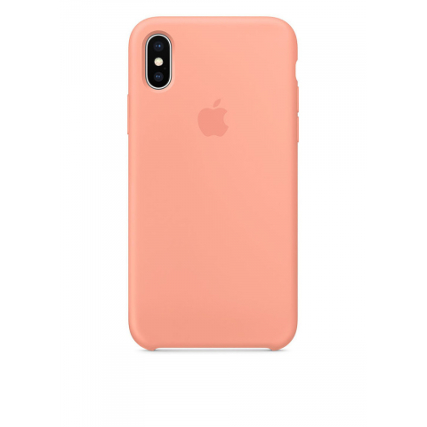 Чехол iPhone X/Xs - Silicone Case - Peach (MRRC2)
