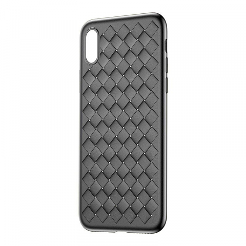 Чехол Baseus BV Weaving черный для iPhone X/XS