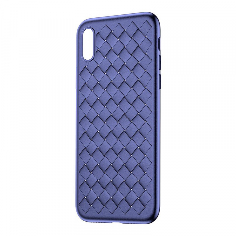Чехол Baseus BV Weaving синий для iPhone X/XS