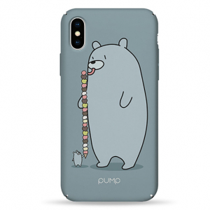 Чехол Pump Tender Touch Case for iPhone X/XS Sweet Bear