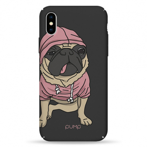 Чехол Pump Tender Touch Case for iPhone X/XS Mops