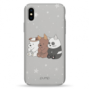 Чехол Pump Tender Touch Case for iPhone XS Max Three Bears