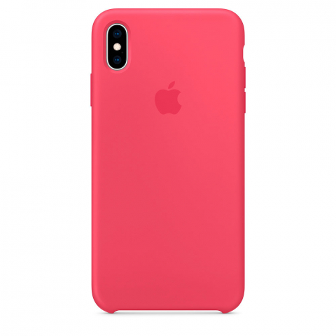 Чехол iPhone X/Xs - Silicone Case - Hibiscus (MUJT2)