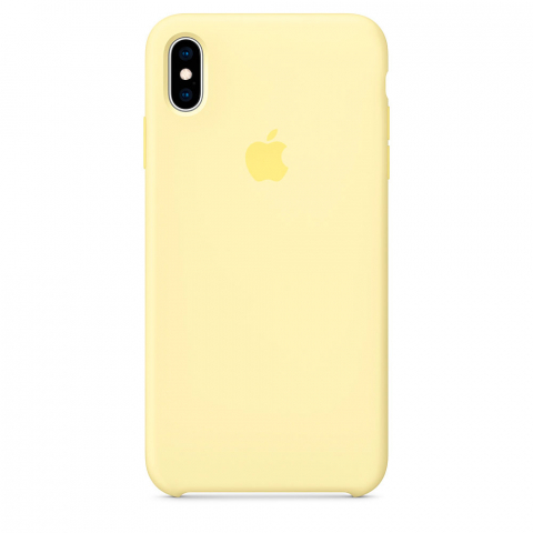 Чехол iPhone X/Xs - Silicone Case - Mellow Yellow (MUJV2)