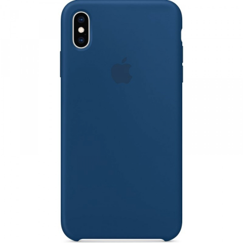 Чехол iPhone X/Xs - Silicone Case - Blue Horizon (MTF92)