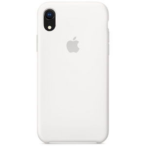 Чехол Apple Silicone Case iPhone XR White copi(B)