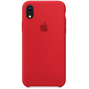 Чехол Apple Silicone Case iPhone XR Red copi(B)
