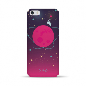 Чехол Pump Tender Touch Case for iPhone 5/5S/SE Pink Space