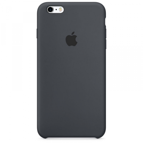 Чехол Apple Silicone Case iPhone 6/6s Charcoal Gray copi(A)