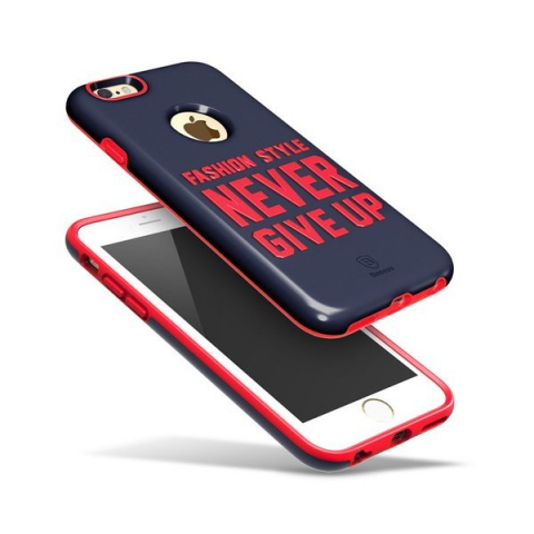 Чехол Baseus Fashion синий + зеленый для iPhone 6/6S