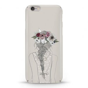 Чехол Pump Tender Touch Case for iPhone 6/6S Flowers in Hair