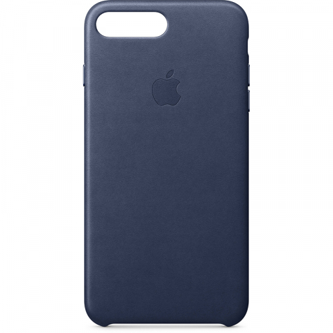 Чехол Apple iPhone 7/8 Leather Case Midnight Blue (MMY32)