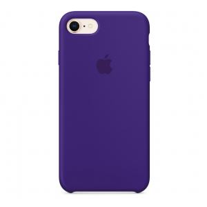 Чехол Apple Silicone Case  iPhone 8/7 Ultra Violet copi(A)