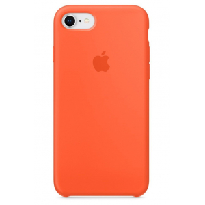 Чехол Apple Silicone Case  iPhone 8/7 Spicy Orange copi(A)