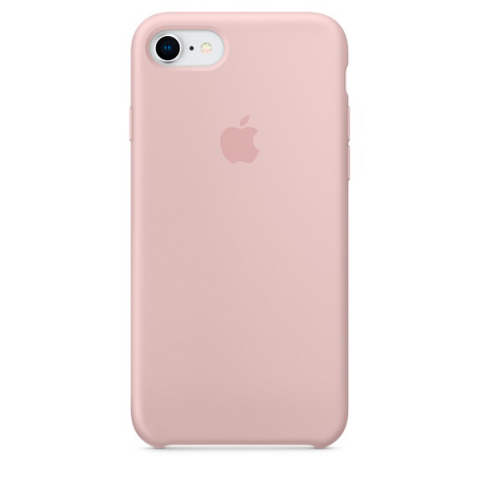 Чехол Apple Silicone Case iPhone 8/7 Pink Sand copi(A)