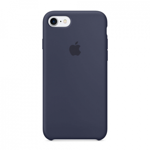 Чехол Apple Silicone Case  iPhone 8/7 Midnight Blue copi(A)
