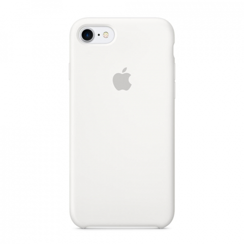 Чехол Apple Silicone Case  iPhone 8/7 White copi(A)